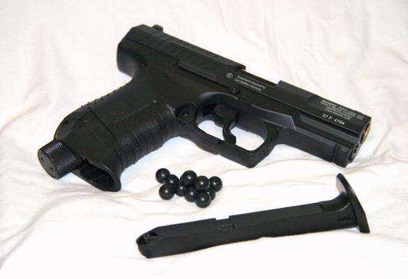 cgc articles gun test umarex p99 ram rh christchurchgunclub org Black Walther P99 Walther P22